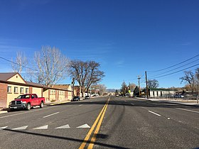 2015-01-15 13 44 57 View east along Nevada State Route 319 in Panaca, Nevada.JPG