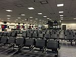 2015-04-14 00 18 58 View toward the inner end of Concourse E from the outer end at Salt Lake City International Airport, Utah.jpg