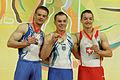 2015 European Artistic Gymnastics Championships - Parallel Bars - Medalists 13.jpg