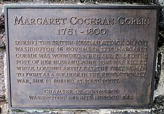 a biography of margaret cochran corbin the first woman to receive pension from the united states gov Margaret cochran was born near chambersburg, pennsylvania on  was the  first woman to receive a military pension from the united states.