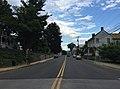 2016-07-19 18 09 32 View north along U.S. Route 11 (Main Street) at Stony Creek in Edinburg, Shenandoah County, Virginia.jpg