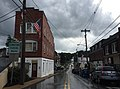 2016-08-21 15 48 26 View south along Maryland State Route 808 (Main Street) between Park Avenue and Hood Street in Mount Airy, Carroll County, Maryland.jpg