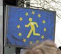 2017-03-12, Pulse of Europe, Pro-Europa-Demo auf dem Augustinerplatz in Freiburg, Plakat Run for Europe, vorn.jpg