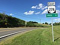 2017-06-25 17 50 47 View east along Virginia State Route 274 (Riverside Drive) just east of U.S. Route 58 and U.S. Route 221 (Grayson Parkway) in eastern Grayson County, Virginia.jpg