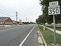 2017-08-21 18 27 03 View east along Maryland State Route 350 (Mount Hermon Road) at Main Street in Salisbury, Wicomico County, Maryland.jpg