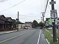 2017-09-06 15 45 51 View south along U.S. Route 1 Business and U.S. Route 206 (Princeton Avenue) at Calhoun Street (Mercer County Route 653) in Trenton City, Mercer County, New Jersey.jpg