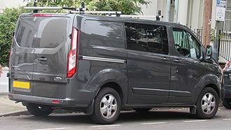 Ford Transit Custom - Image: 2017 Ford Transit Custom 290 Limite 2.0 Rear