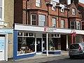 2018-04-06 The Salvation army charity shop, Church Street, Sheringham.JPG
