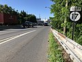 2018-07-19 09 11 04 View south along New Jersey State Route 17 just north of Prospect Avenue in Rochelle Park Township, Bergen County, New Jersey.jpg