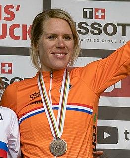 Ellen van Dijk Dutch professional cyclist