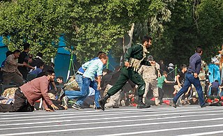 Ahvaz military parade attack Attack on military parade in Iran