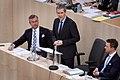 2018 Budgetrede Finanzminister Hartwig Löger (40043665225).jpg