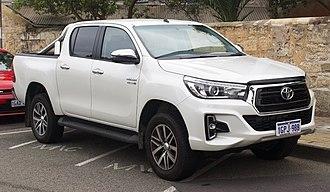 Ute (vehicle) - 2018 Toyota Hilux Ute