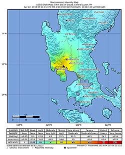 2019 Luzon earthquake - Wikipedia