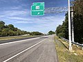 2019-09-23 10 21 56 View west along Maryland State Route 32 (Patuxent Freeway) at Exit 20 (Maryland State Route 108, Clarksville) in Columbia, Howard County, Maryland.jpg