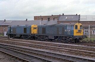 British Rail Class 20 class of 228 Bo′Bo′ 1000hp diesel-electric locomotives