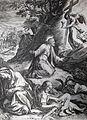 223 Life of Christ Phillip Medhurst Collection 4468 Christ at prayer Mark 14.35 Goltzius.jpg