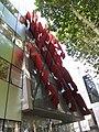 22 Parasoles garabato, de Juan Navarro Baldeweg, UPF, c. Wellington 10 (Barcelona).jpg