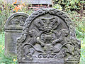 251012 Detail of tombstones at Jewish Cemetery in Warsaw - 15.jpg