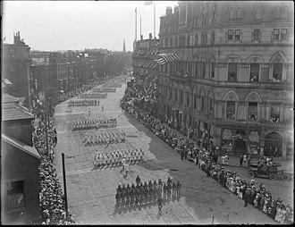 Odd Fellows Hall, Boston - Image: 2590431508 Army Navy Boston 1917