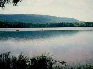 Camelback Mountain (Big Pocono) - Big Pocono from Spring Lake