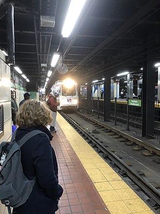 30th Street station (SEPTA Subway) - Image: 30th Street Trolley Station 2