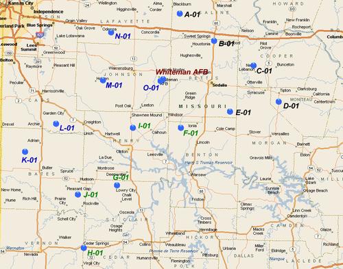 Minuteman Missile Unit Patches - Strategic Air Command