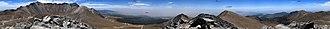 Nevado de Toluca - Image: 360° Panorama Nevado Toluca