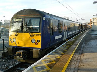 British Rail Class 360 - Image: 360101 at a Frosty Manningtree