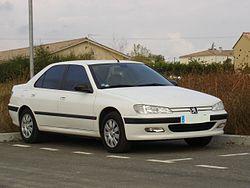 Peugeot 406 - Simple English Wikipedia, the free encyclopedia