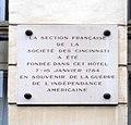 40 rue du Cherche-Midi - plaque.JPG