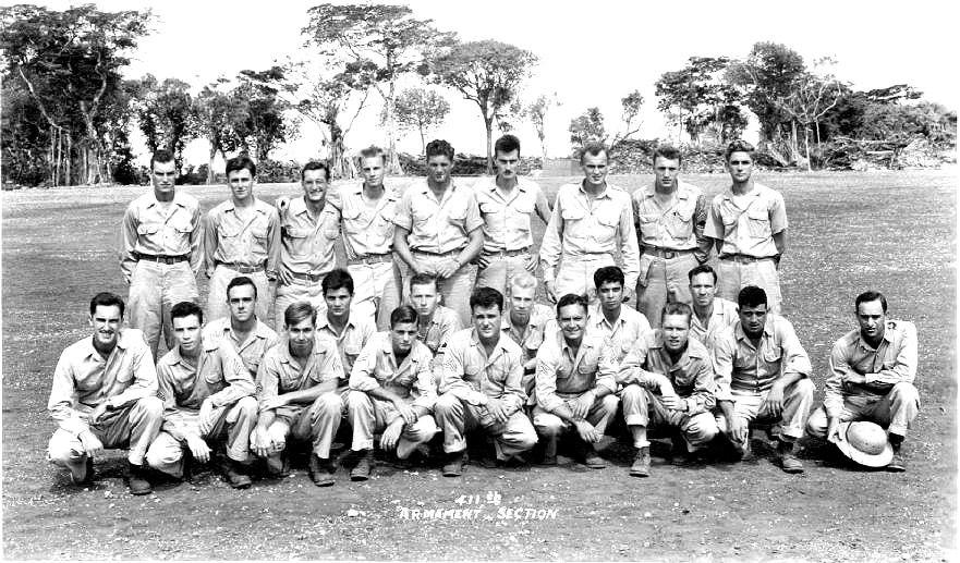 411th Bombardment Squadron - NW Field Guam 1945