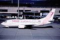 43cg - Tunisair Boeing 737-5H3; TS-IOI@ZRH;07.11.1998 (5126198181).jpg