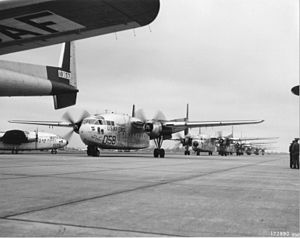 63d Air Expeditionary Wing - 465th Troop Carrier Group C-119 Flying Boxcars