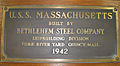 69-322-A PLAQUE, BUILDERS, USS MASSACHUSETTS (BB 59).jpg