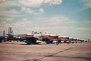 77th Fighter Squadron F-84Gs RAF Wethersfield