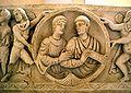 8746 - Roma, museo civiltà Romana - Sarcofago di Stilicone - Foto Giovanni Dall'Orto 12-Apr-2008.jpg