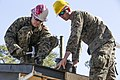 8th Engineer Support Battalion constructs storage facility 150331-M-CU214-009.jpg