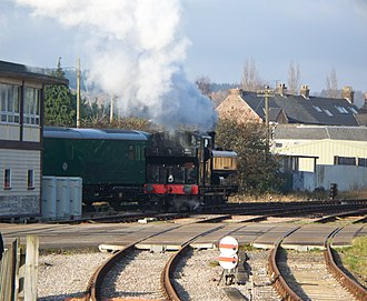Dean Forest Railway - 9681 north of Lydney Junction station