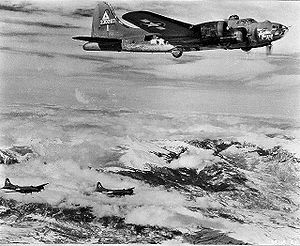 97th Operations Group - B-17 of the 97th Bomb Group in early Fifteenth Air Force identification markings