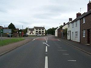 Alvington, Gloucestershire - Image: A48, Alvington geograph.org.uk 2028571