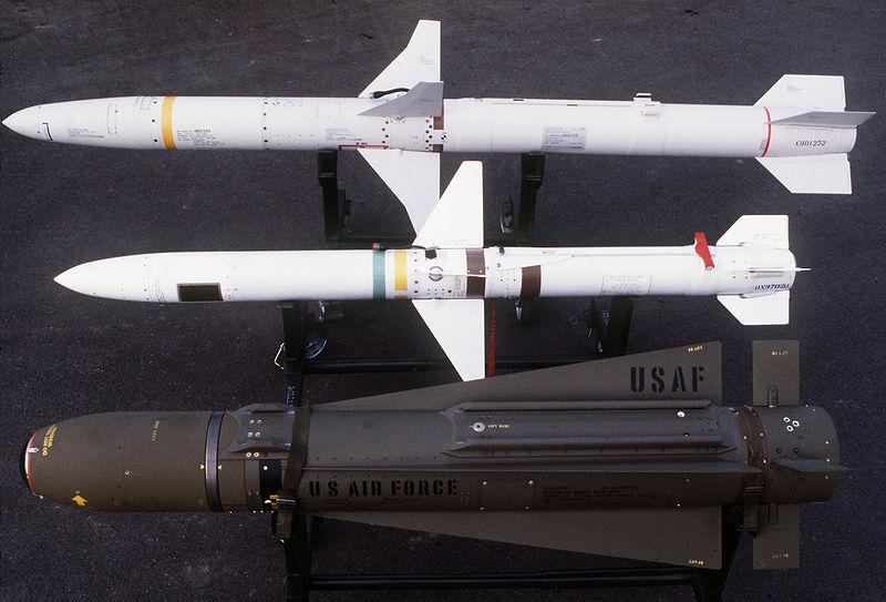 File:AGM-88 AGM-45 and AGM-65.jpg