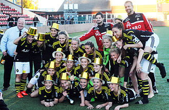 AIK Fotboll (women) - Image: AIK Fotboll Dam 2013