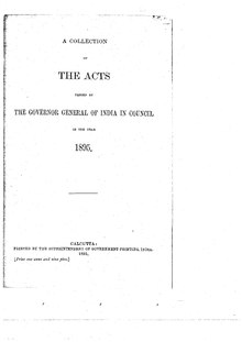 A Collection of the Acts passed by the Governor General of India in Council, 1895.pdf