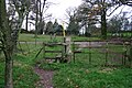 A Footpath and Stile - geograph.org.uk - 291318.jpg