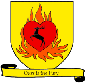 Melisandre - Personal coat of arms of Stannis Baratheon