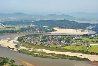 Andong Municipal City in North Gyeongsang, South Korea