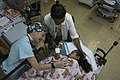 A child recovers from surgery aboard USNS Comfort. (17900400172).jpg