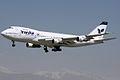 A landing Iran Air's Boeing 747.jpg