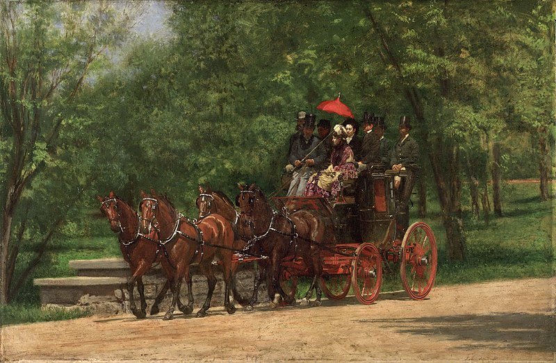 File:A may morning in the park thomas eakins.jpeg